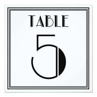 アールデコのテーブル第5 カード