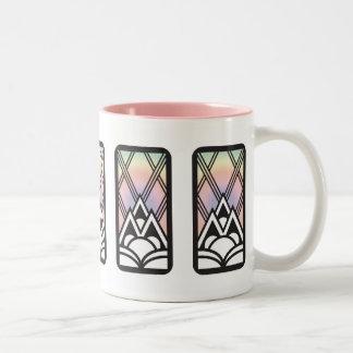 アールデコのマグ ツートーンマグカップ