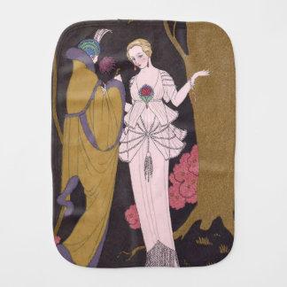 アールデコの女性-森林の2人の女性 バープクロス