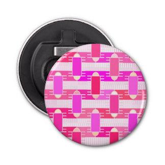アールデコの産業上品-ピンク、明るい赤紫色、蘭 栓抜き