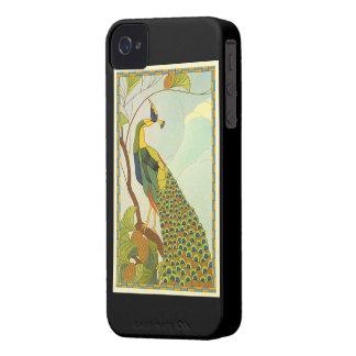 アールヌーボーのウィーンの孔雀 Case-Mate iPhone 4 ケース