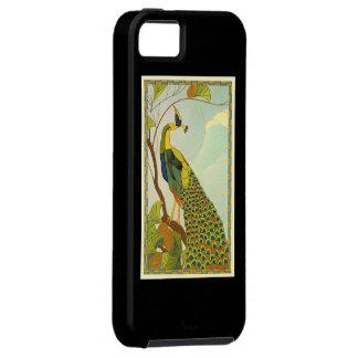 アールヌーボーのウィーンの孔雀 iPhone SE/5/5s ケース