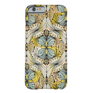 アールヌーボーのデザイン#4 @ VictoriaShaylee Barely There iPhone 6 ケース