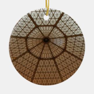 アールヌーボーのドームのSpiderwebのオーナメント セラミックオーナメント