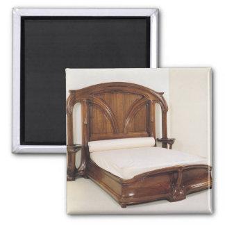アールヌーボーのベッド1900年 マグネット
