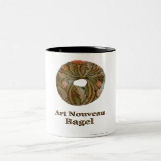アールヌーボーのベーゲル ツートーンマグカップ