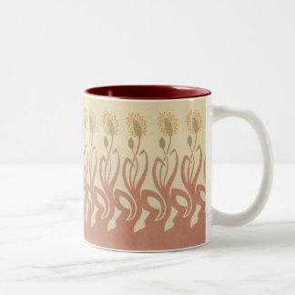アールヌーボーのムギ ツートーンマグカップ