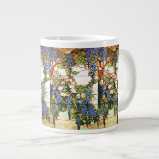 アールヌーボーの花のジャンボマグ ジャンボコーヒーマグカップ