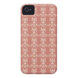 アールヌーボーの花柄 Case-Mate iPhone 4 ケース