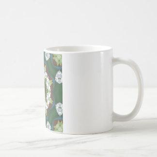 アールヌーボーの花 コーヒーマグカップ
