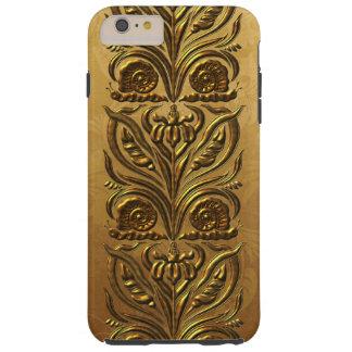 アールヌーボーの金ゴールド TOUGH iPhone 6 PLUS ケース
