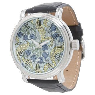 アールヌーボーのbluebells 腕時計