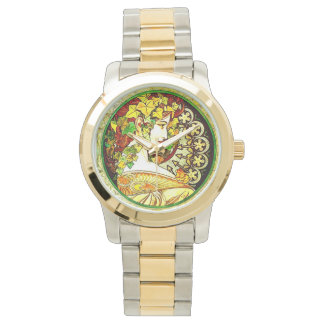 アールヌーボーは腕時計をインスパイア 腕時計