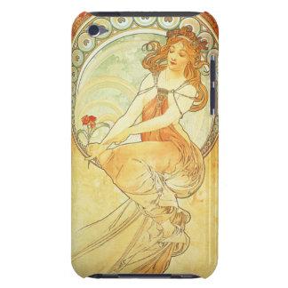 アールヌーボーアルフォンス島のミュシャの石版のiPodの箱 Case-Mate iPod Touch ケース