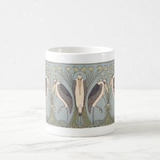 アールヌーボークレーンマグ コーヒーマグカップ