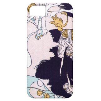 アール・デコの人魚 iPhone SE/5/5s ケース