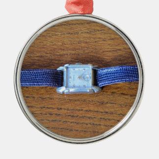 アール・デコの正方形の腕時計 メタルオーナメント