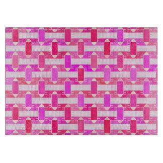 アール・デコの産業上品-ピンク、明るい赤紫色、蘭 カッティングボード