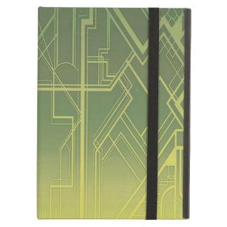 アール・デコのiPadの空気箱 iPad Airケース
