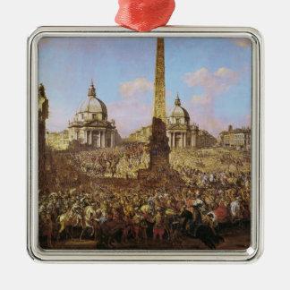 イェジーOssolinskiのローマへの記入項目 メタルオーナメント