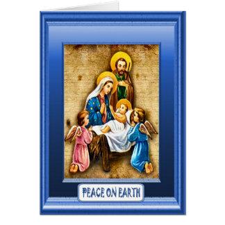 イエス・キリストおよび子供 カード