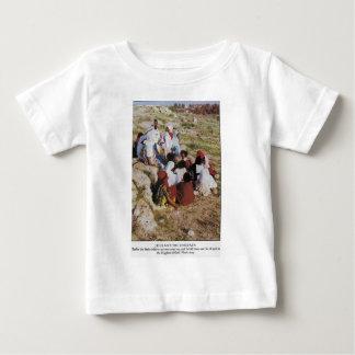 イエス・キリストおよびchildre ベビーTシャツ