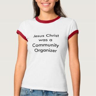 イエス・キリストでしたコミュニティ器官… -カスタマイズ Tシャツ