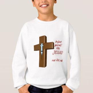 イエス・キリストとのあなた自身を注入して下さい スウェットシャツ
