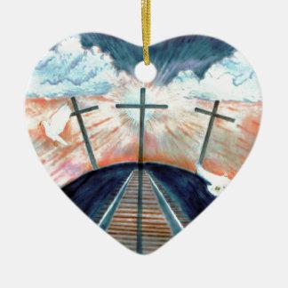 イエス・キリストのはりつけ セラミックオーナメント