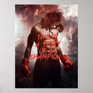 イエス・キリストのチャンピオンポスター ポスター