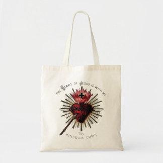 イエス・キリストのバッグのハート トートバッグ