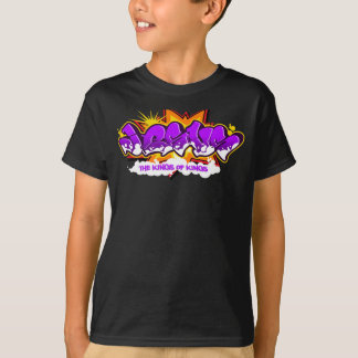 イエス・キリストのヒップホップの落書き Tシャツ