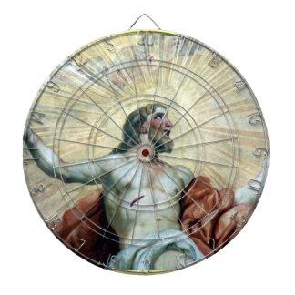 イエス・キリストのフレスコ画 ダーツボード