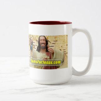 イエス・キリストのマグのためのハム ツートーンマグカップ