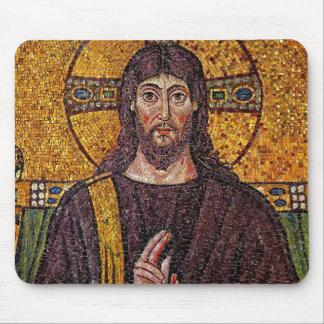 イエス・キリストのモザイクマウスパッド マウスパッド