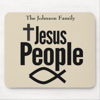 イエス・キリストの人々のキリスト教のマウスパッド マウスパッド