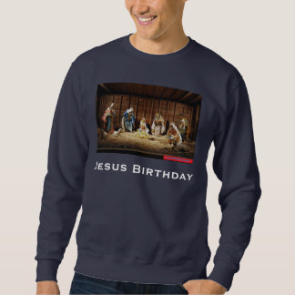イエス・キリストの出生 スウェットシャツ