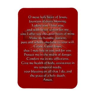 イエス・キリストの十字の神聖なハート マグネット