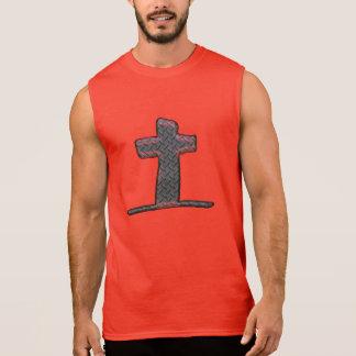 イエス・キリストの十字 袖なしシャツ