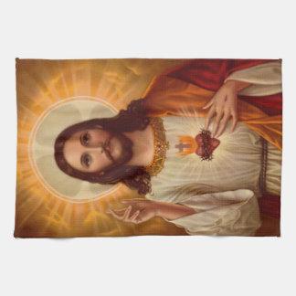 イエス・キリストの台所タオル キッチンタオル