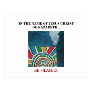 イエス・キリストの名 ポストカード