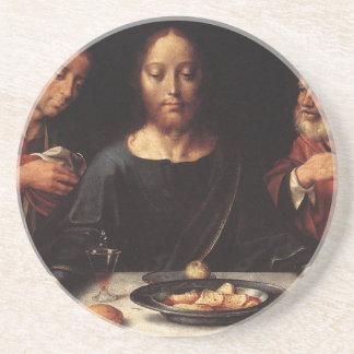 イエス・キリストの大石柱の夕食の飲むコースター コースター