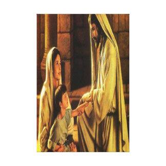イエス・キリストの天恵のキャンバスプリント キャンバスプリント