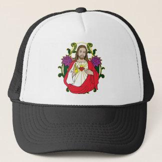 イエス・キリストの天空の神聖なハート キャップ