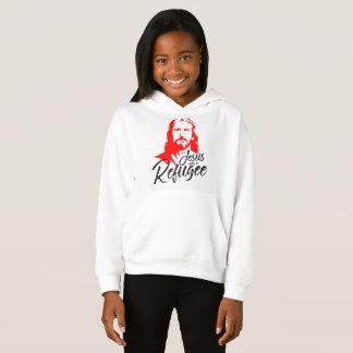 イエス・キリストの女の子のフード付きスウェットシャツ