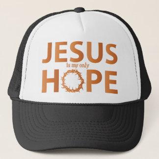イエス・キリストの希望のオレンジの勾配 キャップ
