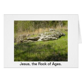 イエス・キリストの年齢の石 カード