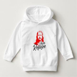 イエス・キリストの幼児のフード付きスウェットシャツ パーカ
