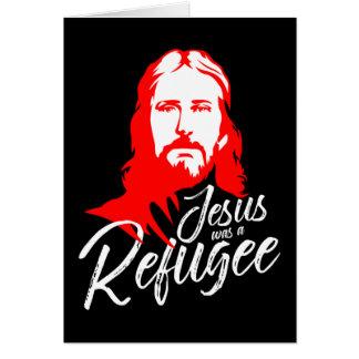 イエス・キリストの暗い挨拶状 グリーティングカード