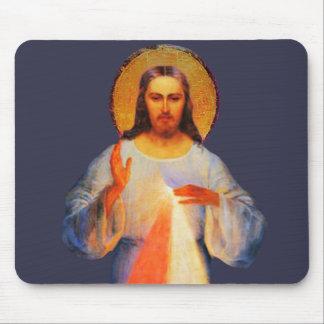 イエス・キリストの神の慈悲のマウスパッド マウスパッド